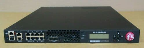 F5 Network Big-IP 2000S LTM Local Traffic Manager Load Balancer 2x PSU +Licenses